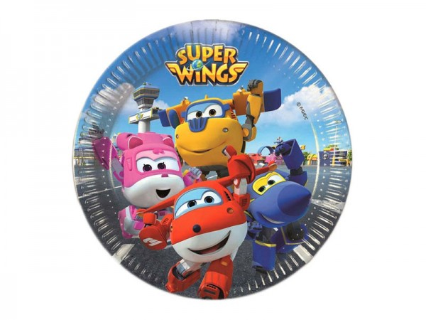 Pappteller Super Wings Partyteller