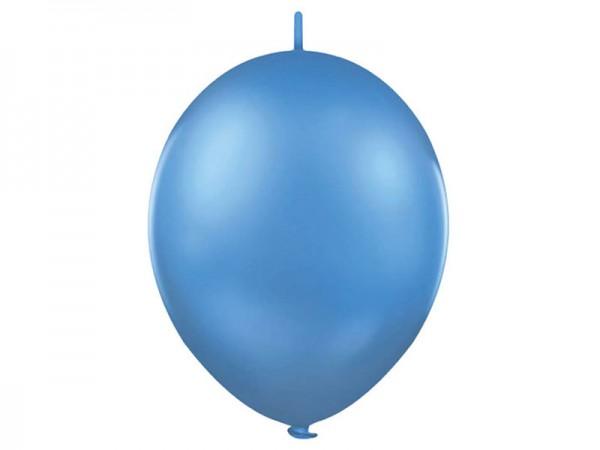 Kettenluftballon hellblau Linkballon