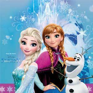 Frozen - Die Eiskönigin Geburtstagsdeko