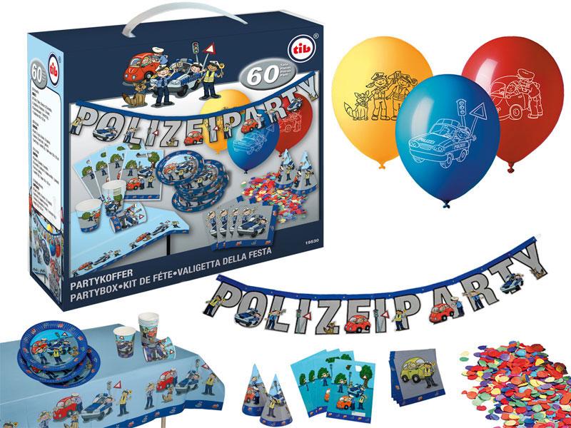 Set Kindergeburtstag Luftballons und Girlanden 7 Jahr