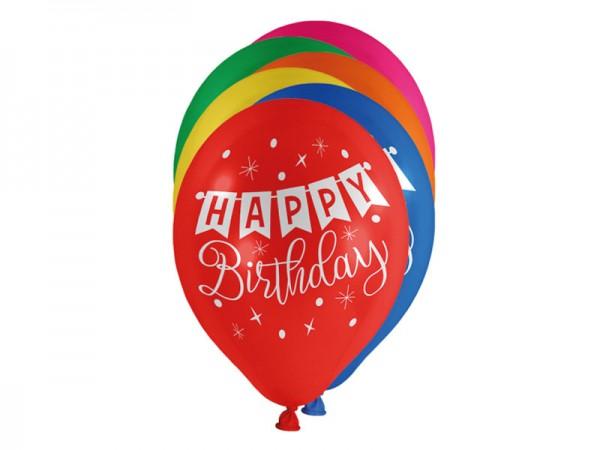 Luftballons Happy Birthday Ballons