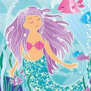 Meerjungfrau Motto Kindergeburtstag