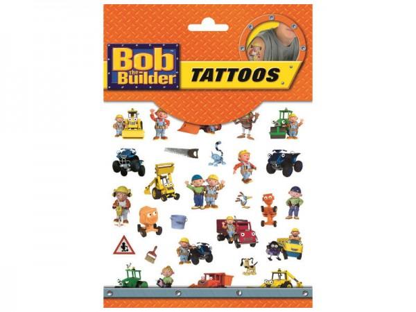 Tattoos Bob der Baumeister Klebetattoos