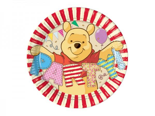 Pappteller Winnie Puuh Partyteller