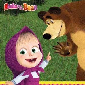 Mascha und der Bär Motto Kindergeburtstag
