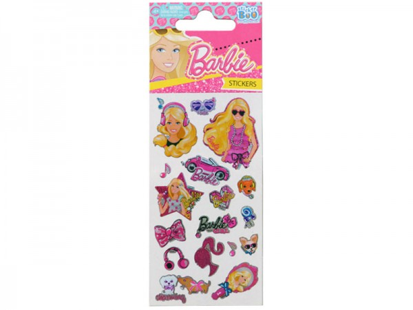 Sticker Barbie Aufkleber