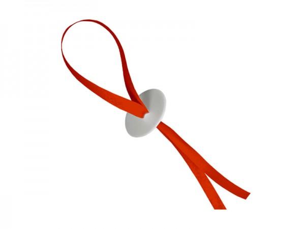 Ballonverschlüsse rot Ballonschnellverschluss