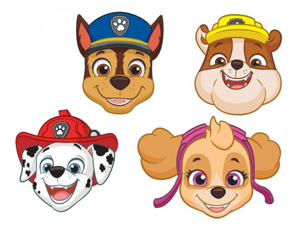 Masken Paw Patrol Partymasken