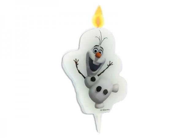 Geburtstagskerze Olaf der Schneemann Kerze Frozen