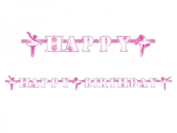 Buchstabenkette Ballerina Girlande