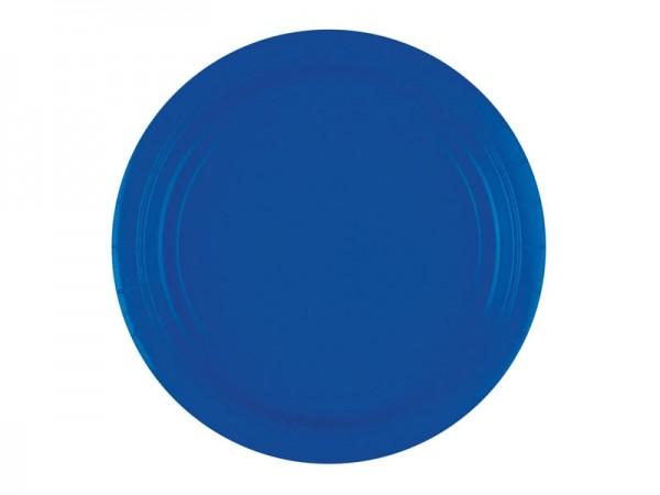 Pappteller blau Partyteller